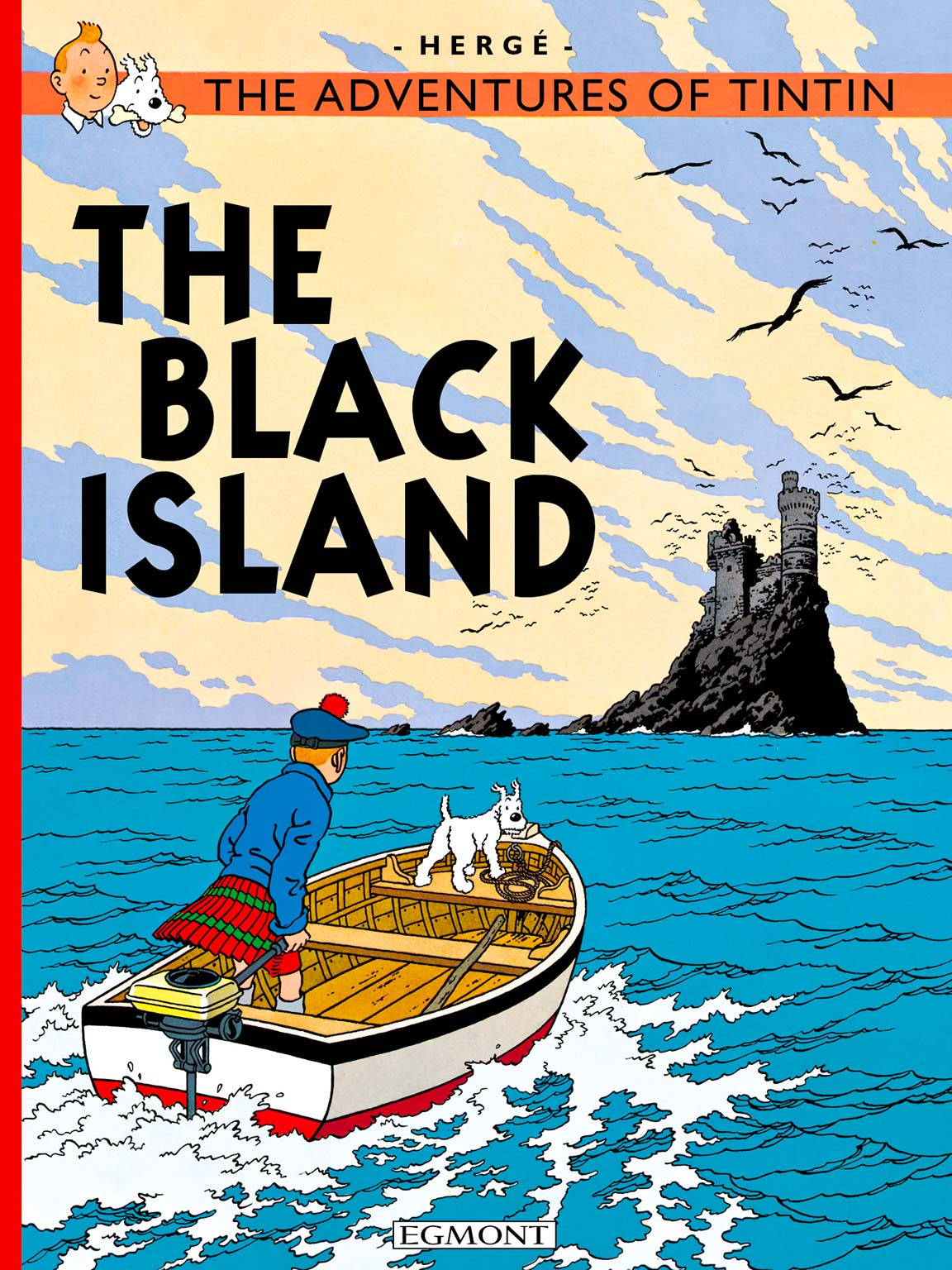 The Black Island - Cover