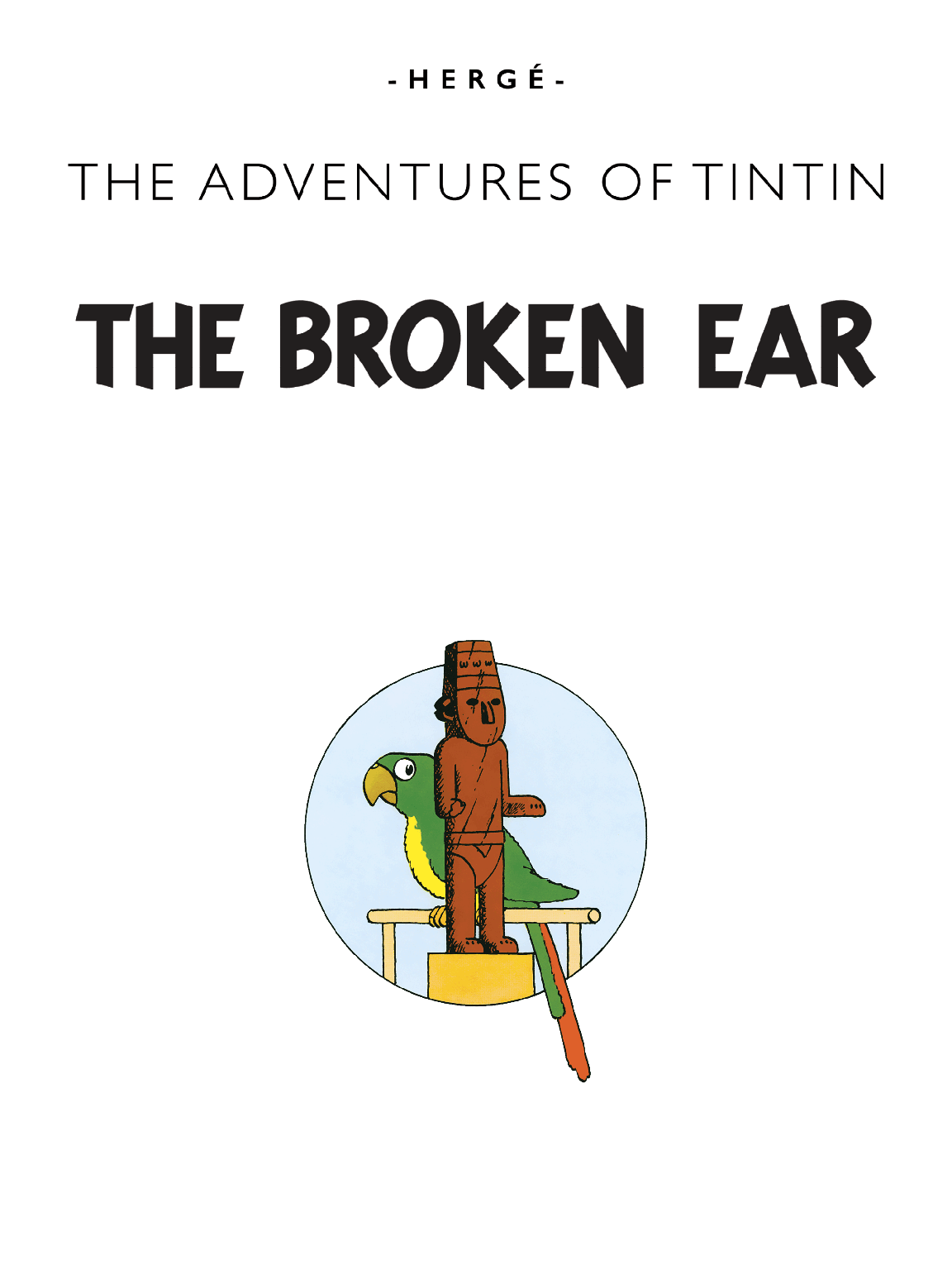 The Broken Ear - Title page