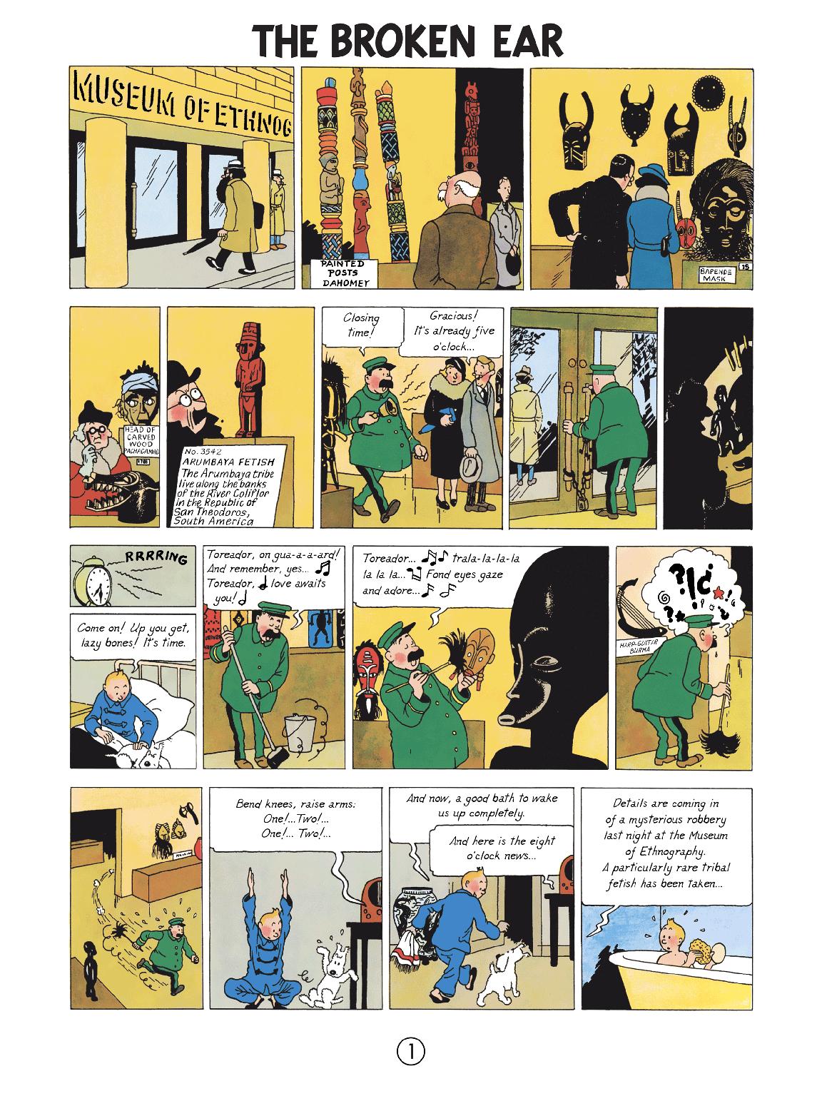 The Broken Ear - Page 1