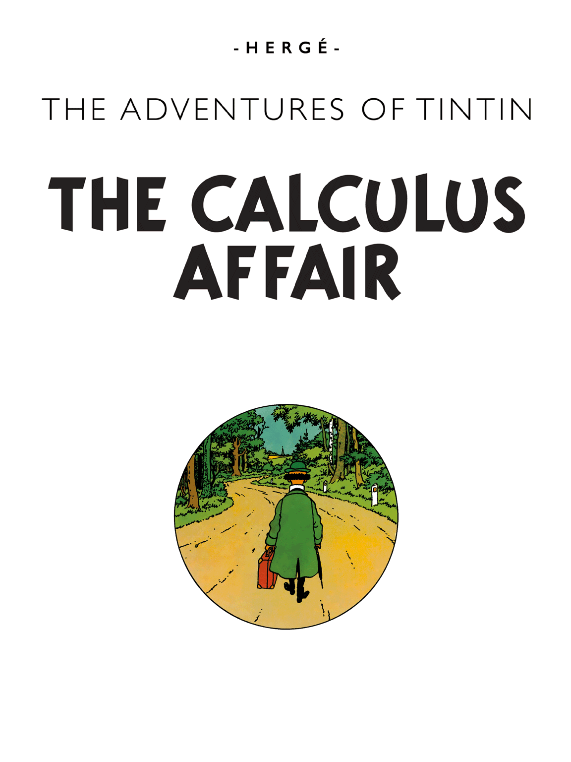 The Calculus Affair - Title page