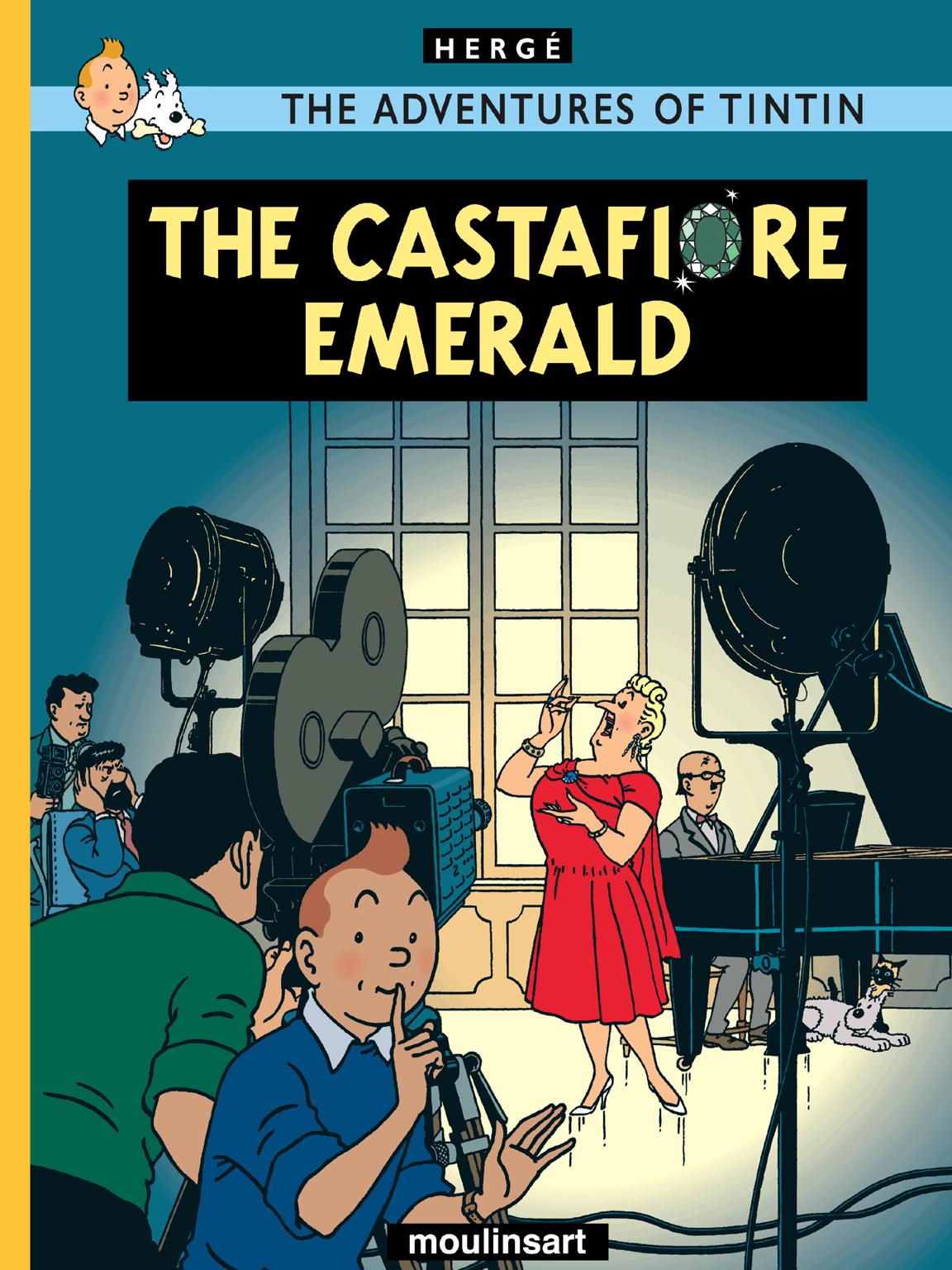 The Castafiore Emerald - Cover