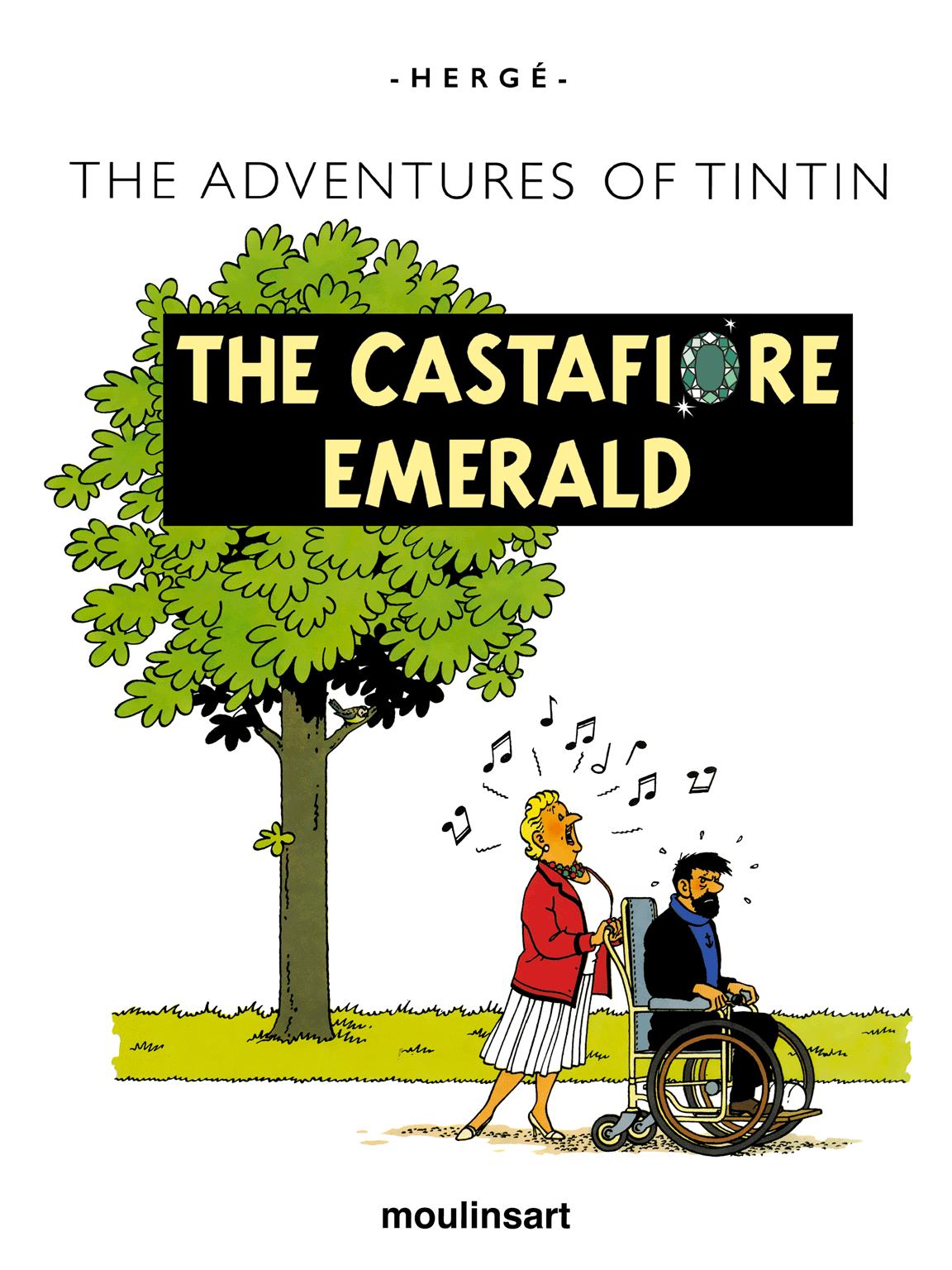 The Castafiore Emerald - Title page