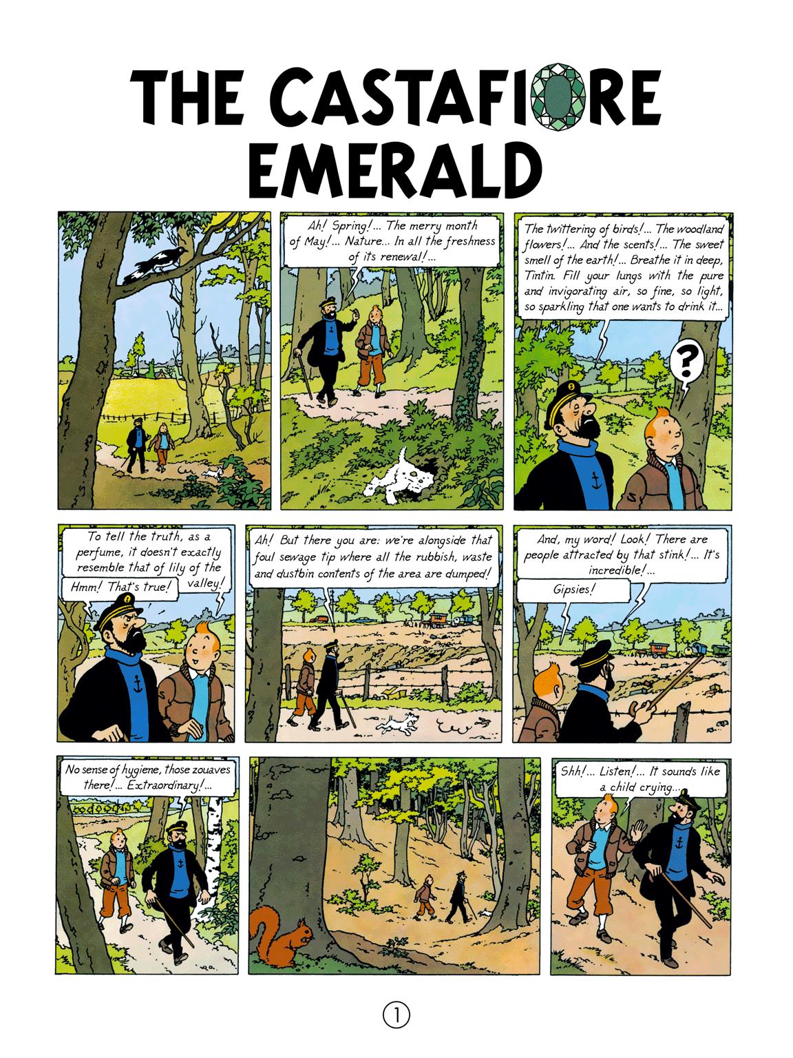 The Castafiore Emerald - page 1