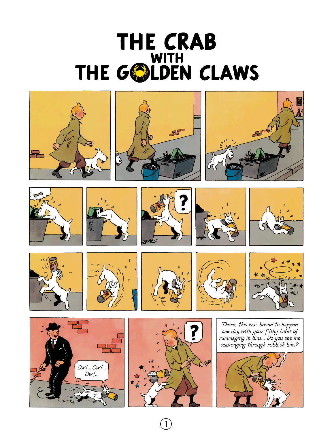The Crab with the Golden Claws - Page 2