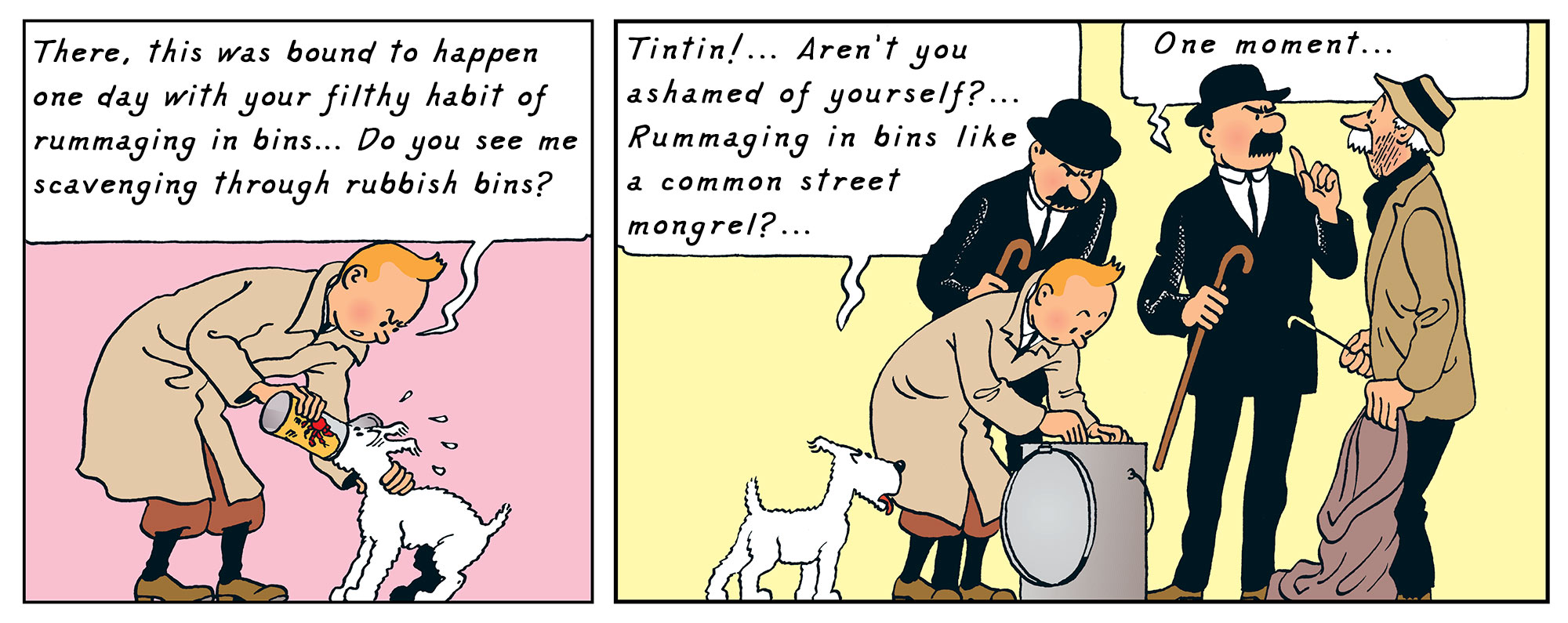 Tintin - The Adventures of Tintin - The Crab with the Golden Claws - Snowy