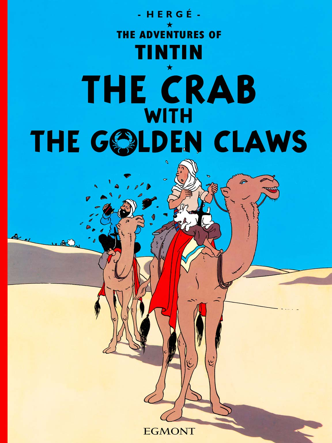 The Crab with the Golden Claws - Cover
