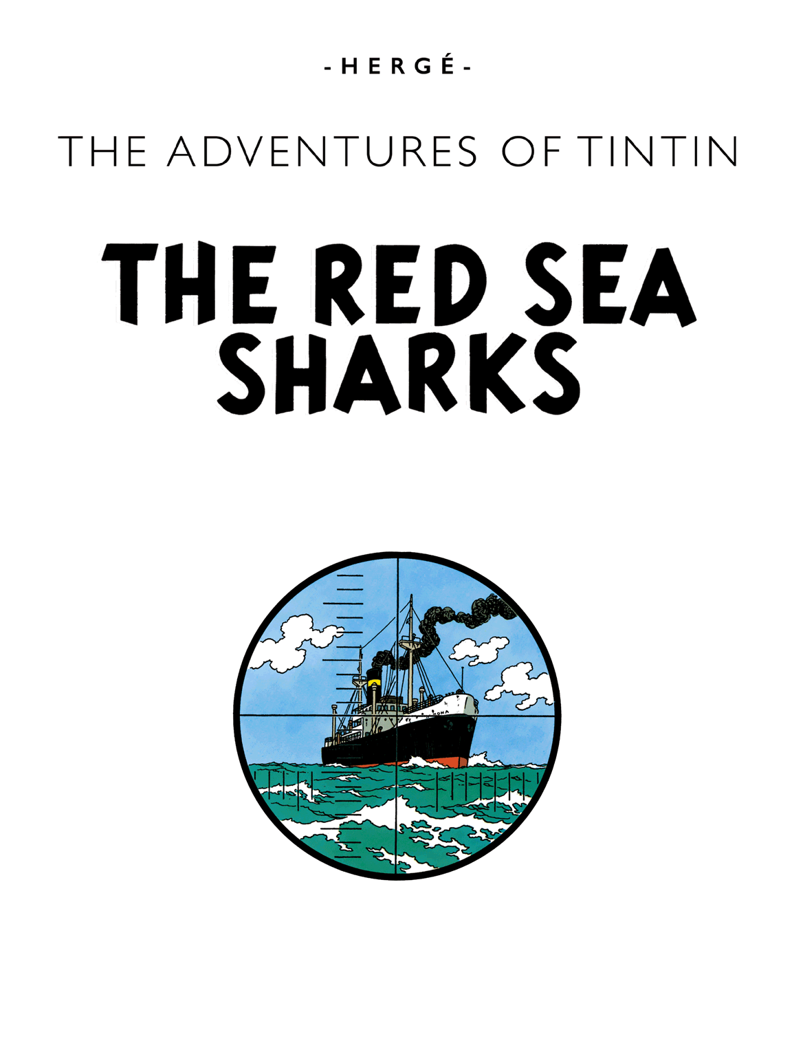The Red Sea Sharks - Title page