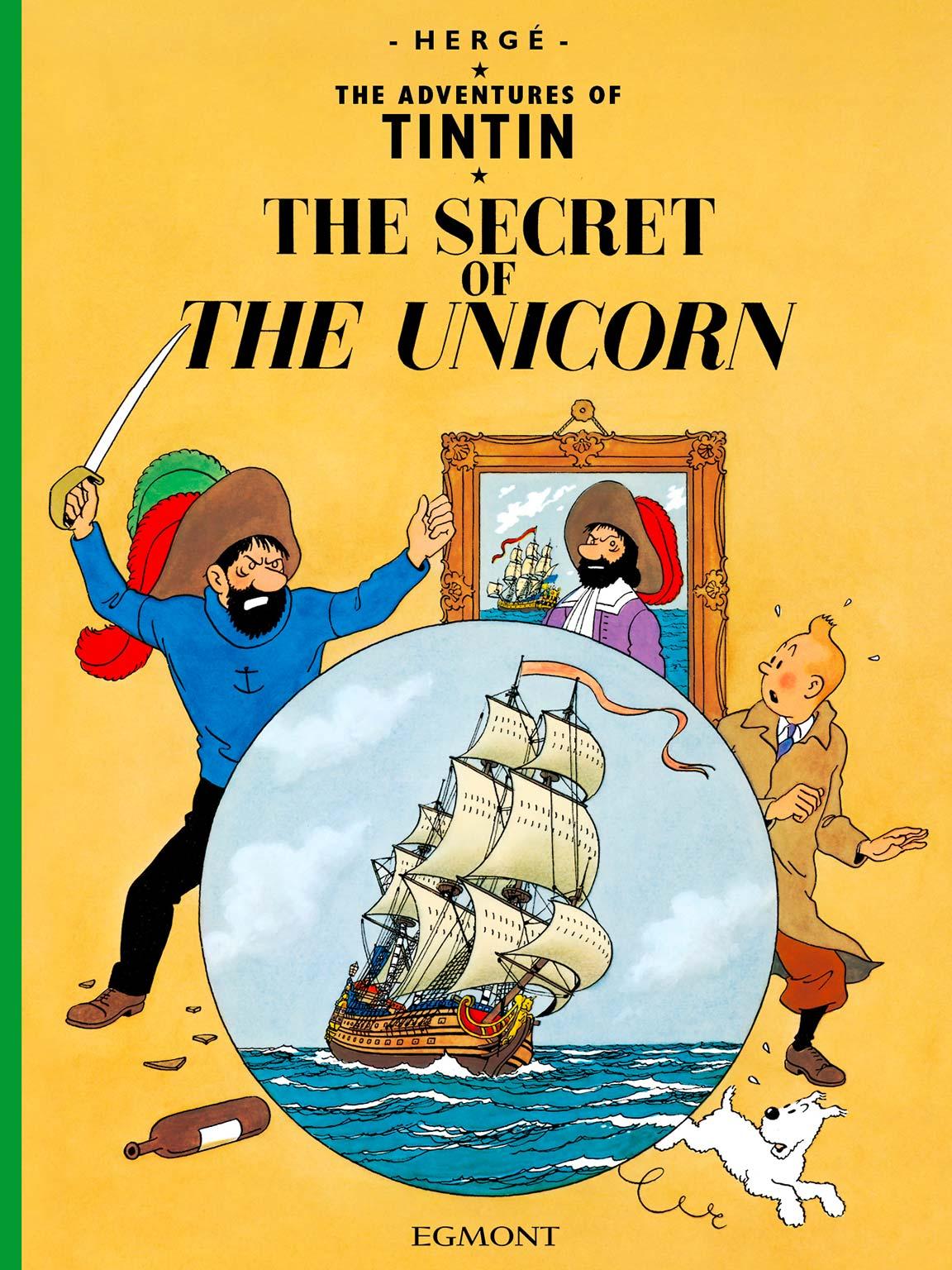 The Secret of the Unicorn - cover