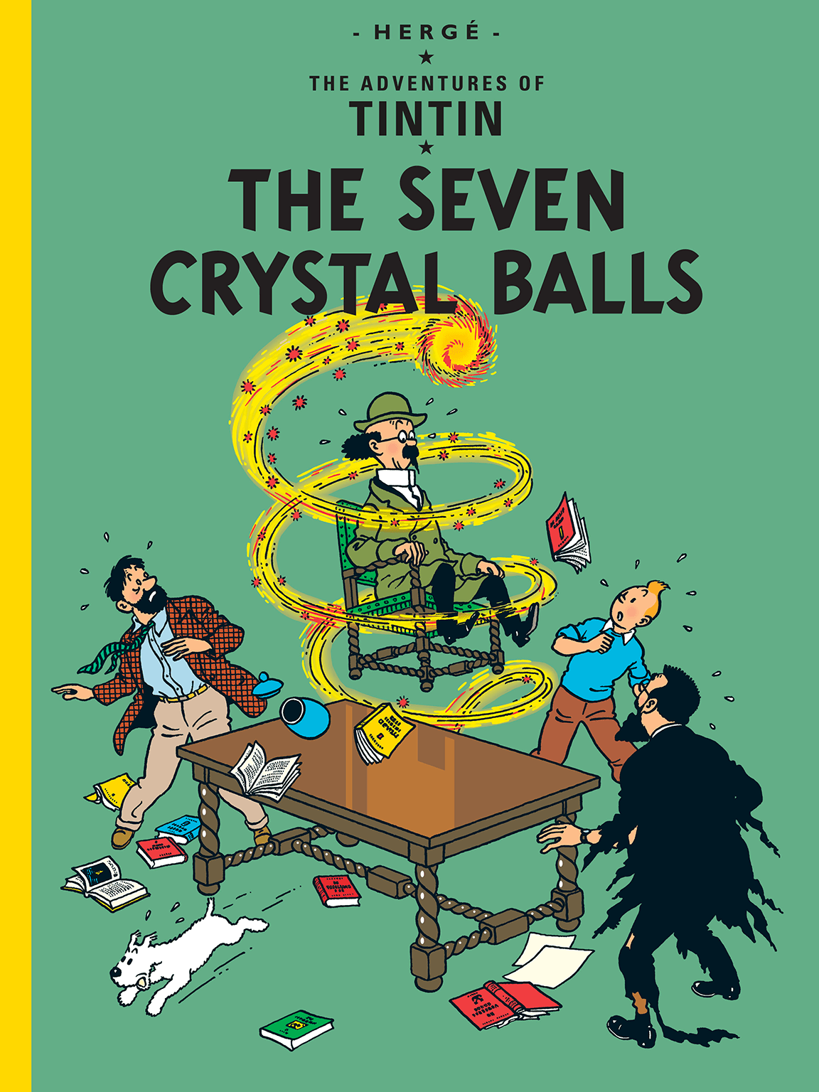 The Seven Crystal Balls - Cover