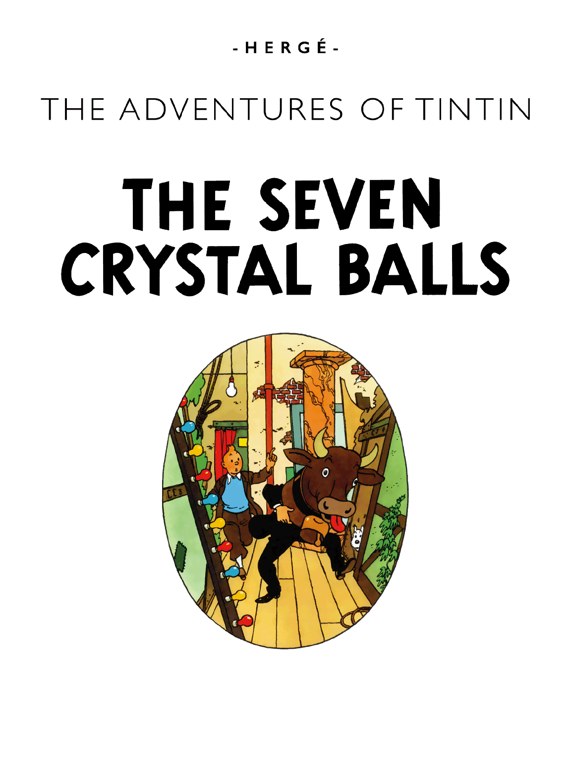 The Seven Crystal Balls - Title page
