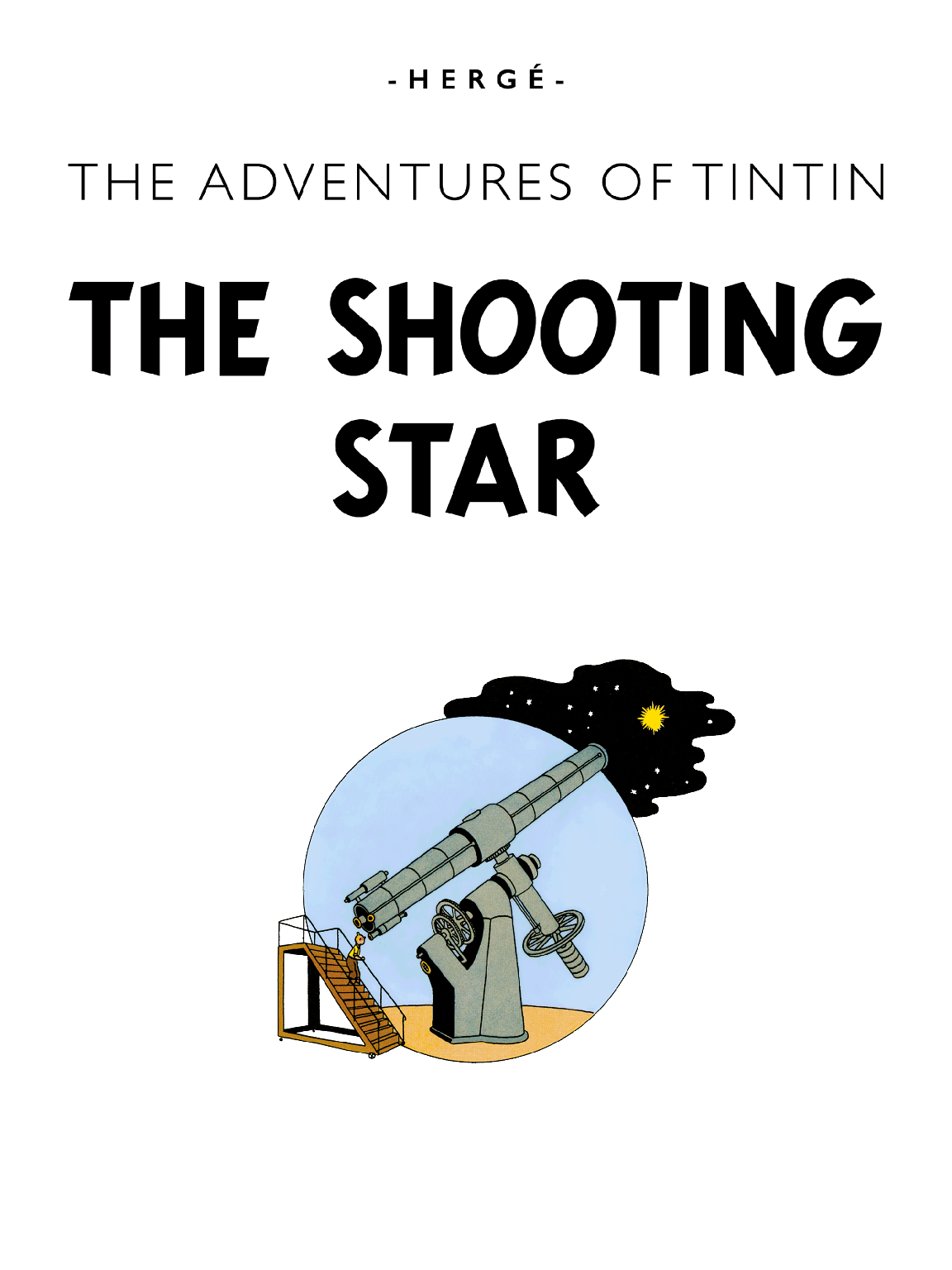 The Shooting Star - Title page