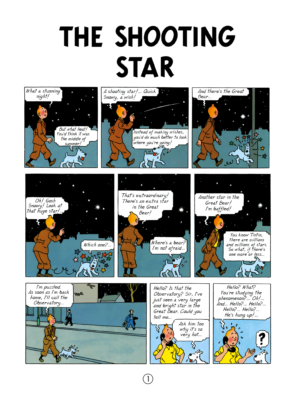 The Shooting Star - Page 1