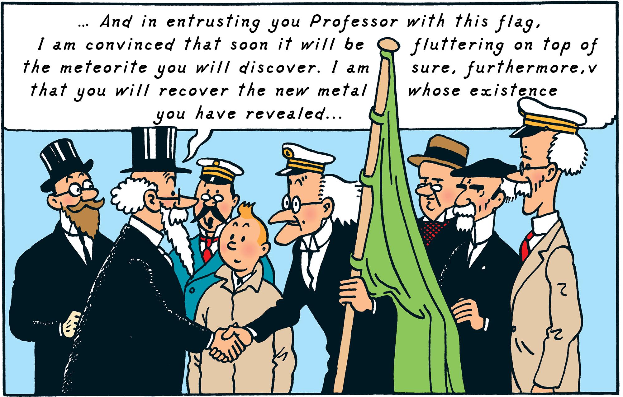 Tintin - The Adventures of Tintin - The Shooting Star