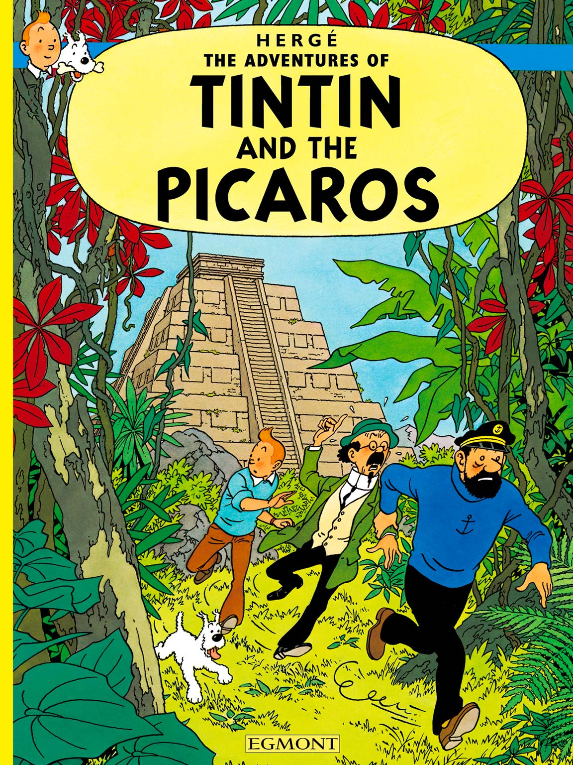 Tintin and the Picaros cover