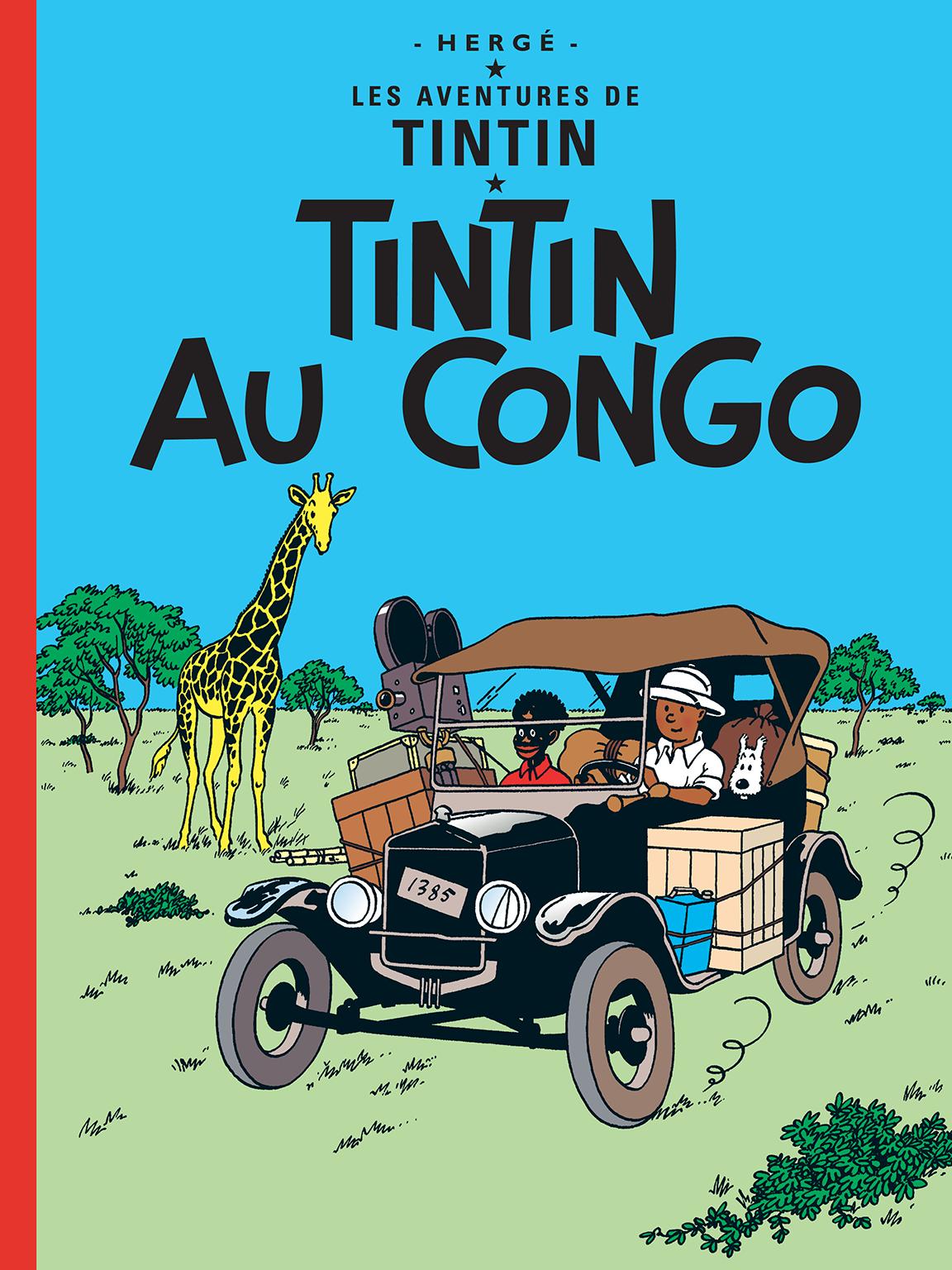 Tintin au Congo couverture
