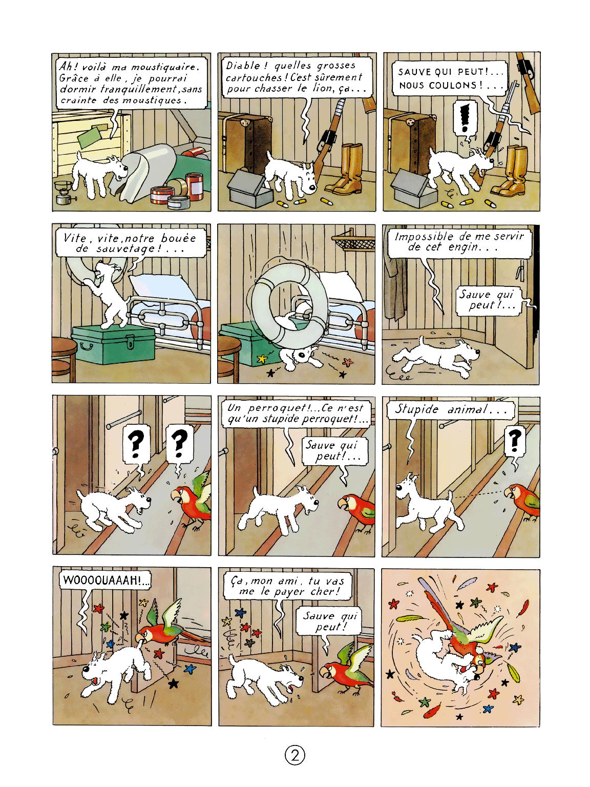 Tintin au Congo - page 2
