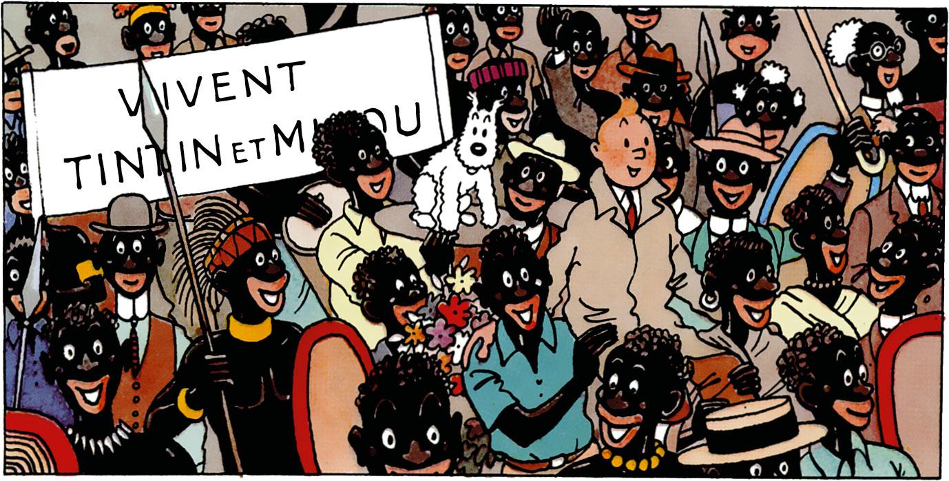 Tintin au Congo Vivent Tintin et Milou