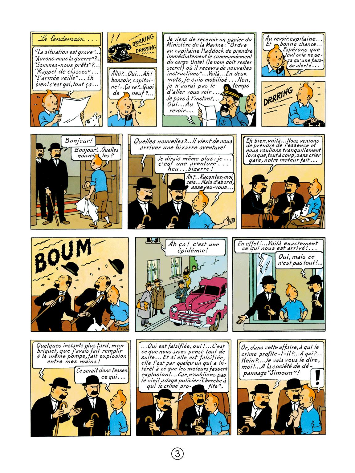 Tintin au pays de l'or noir - page 3