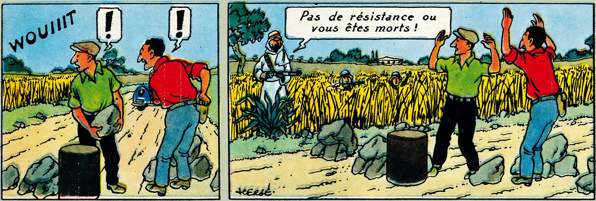 Tintin - Les Aventures de Tintin - Tintin au pays de l'or noir - Le Journal de Tintin