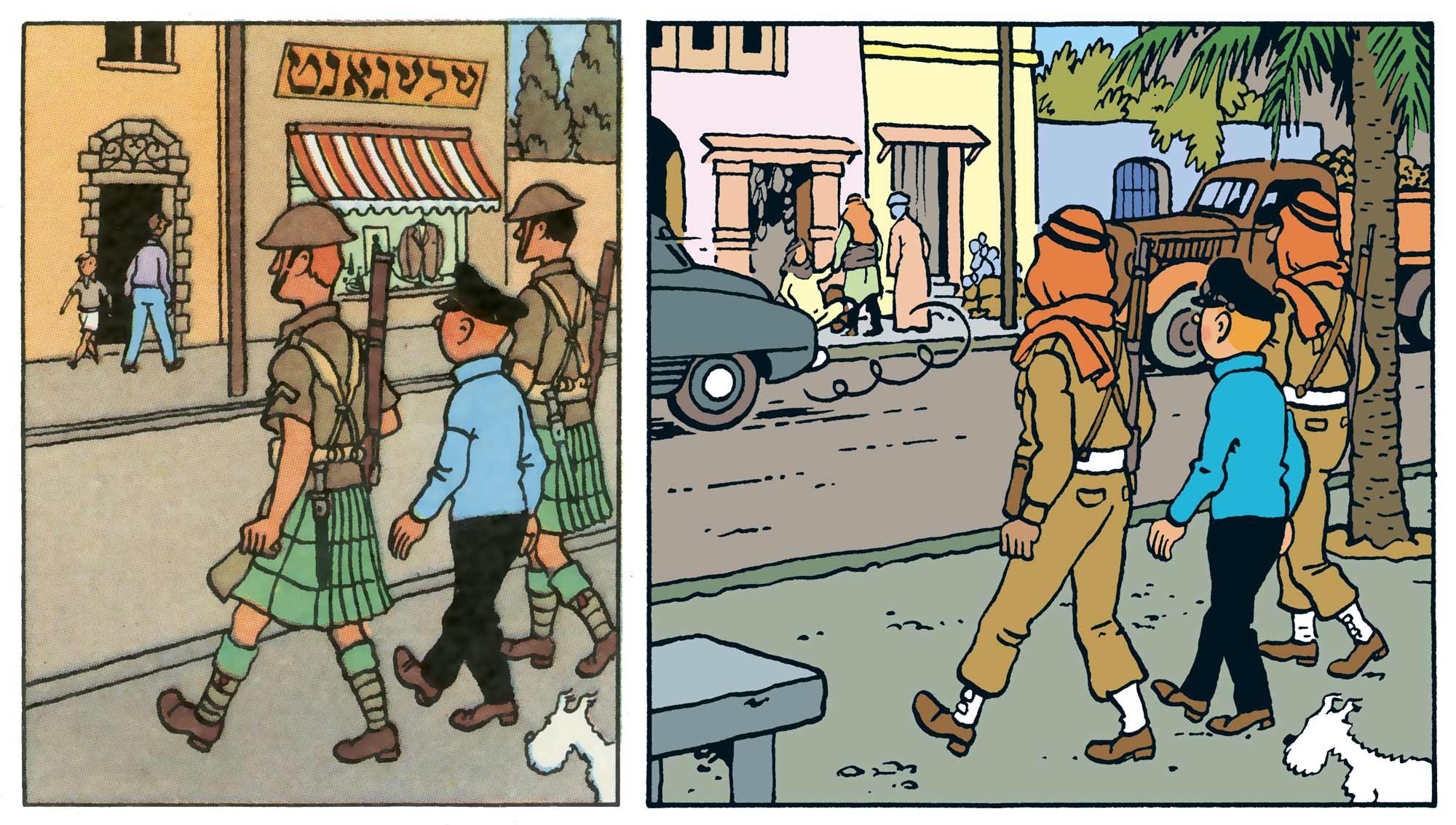 Tintin - Les Aventures de Tintin - Tintin au pays de l'or noir - Le Khemed
