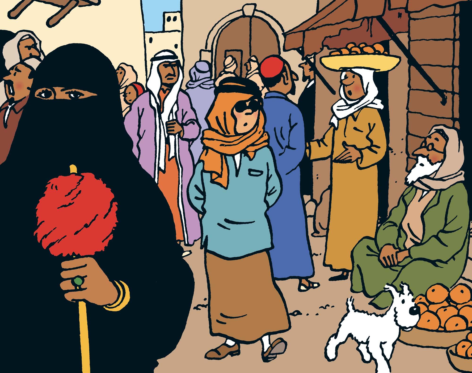 Tintin - Les Aventures de Tintin - Tintin au pays de l'or noir
