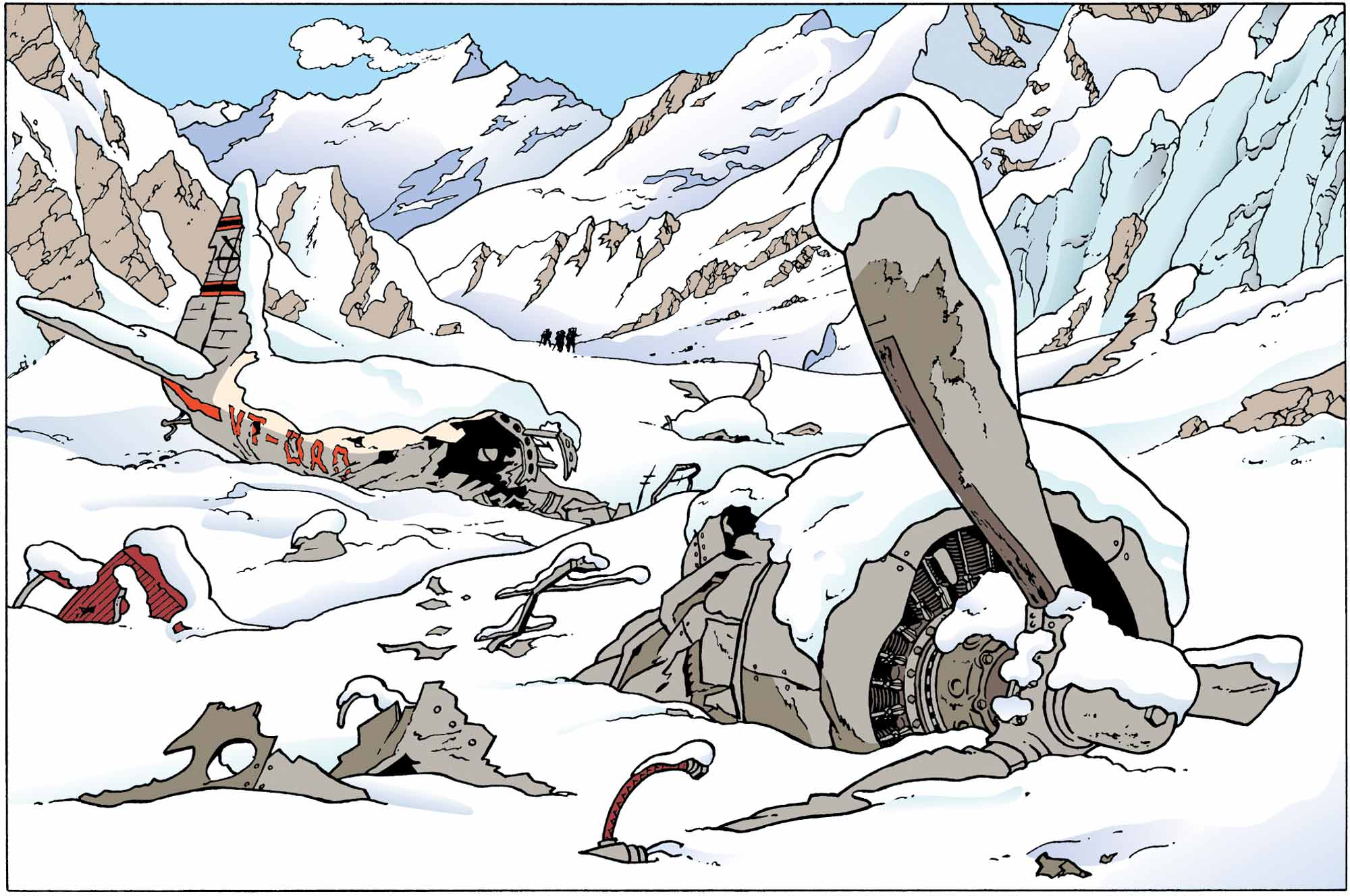 Tintin - Les Aventures de Tintin - Tintin au Tibet