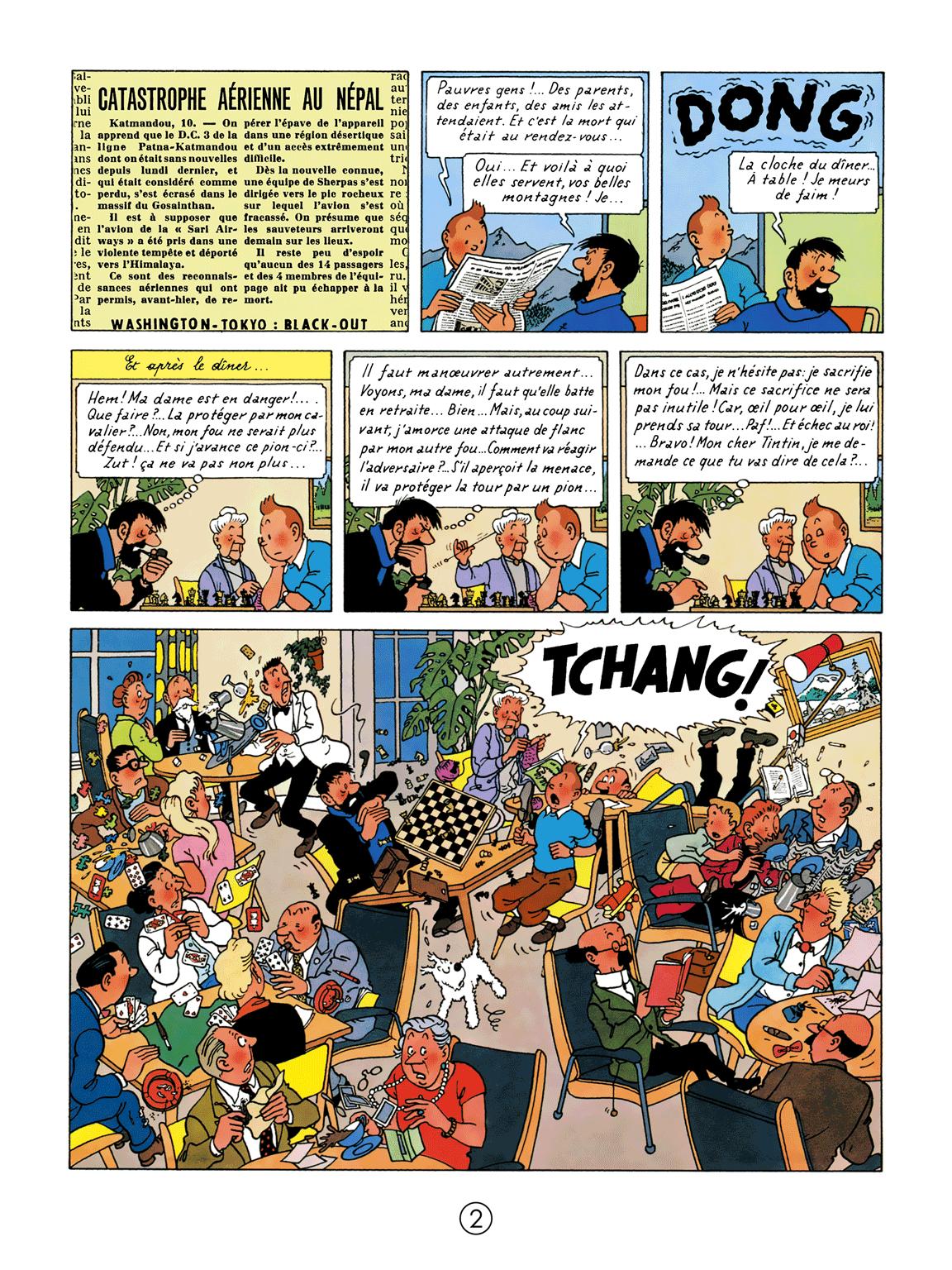 Tintin au Tibet - Page 2