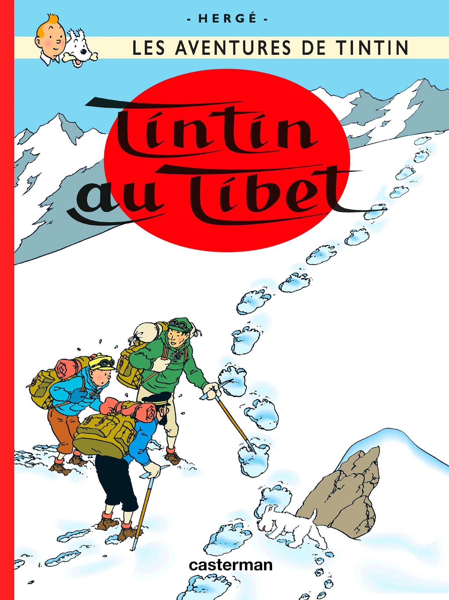 Tintin au Tibet par Hergé
