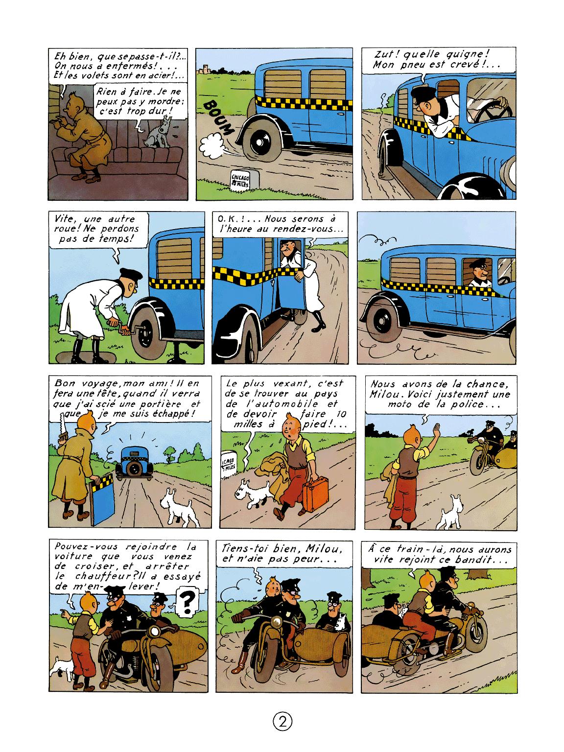Tintin en Amérique - Page 2
