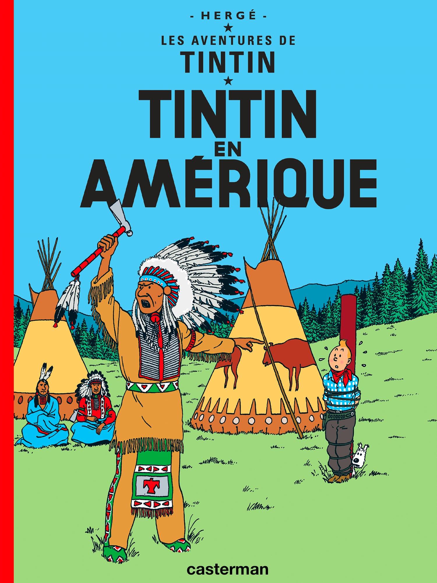 Tintin en Amérique par Hergé