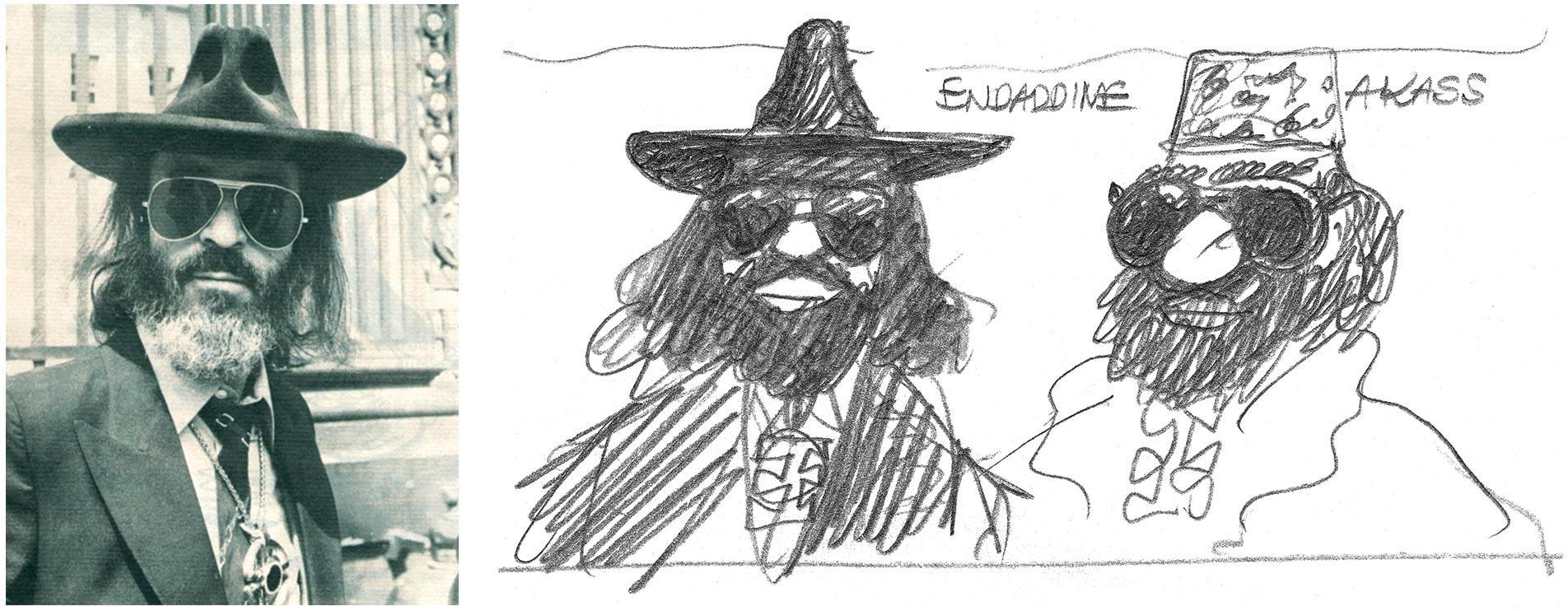 Fernand Legros ou Endaddine Akass dans Tintin et l'Alph-Art