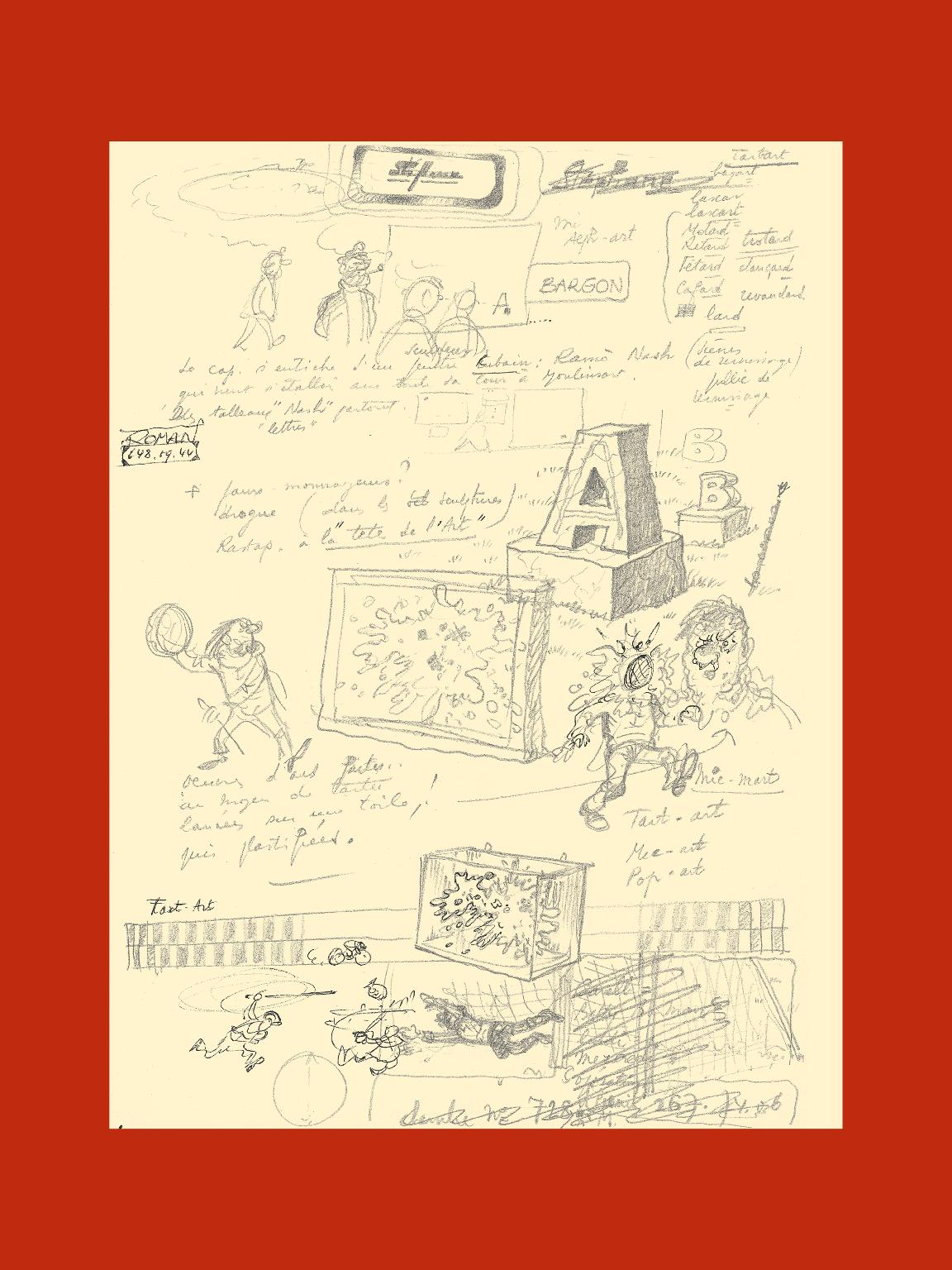 Tintin et l'Alph-Art - page 1
