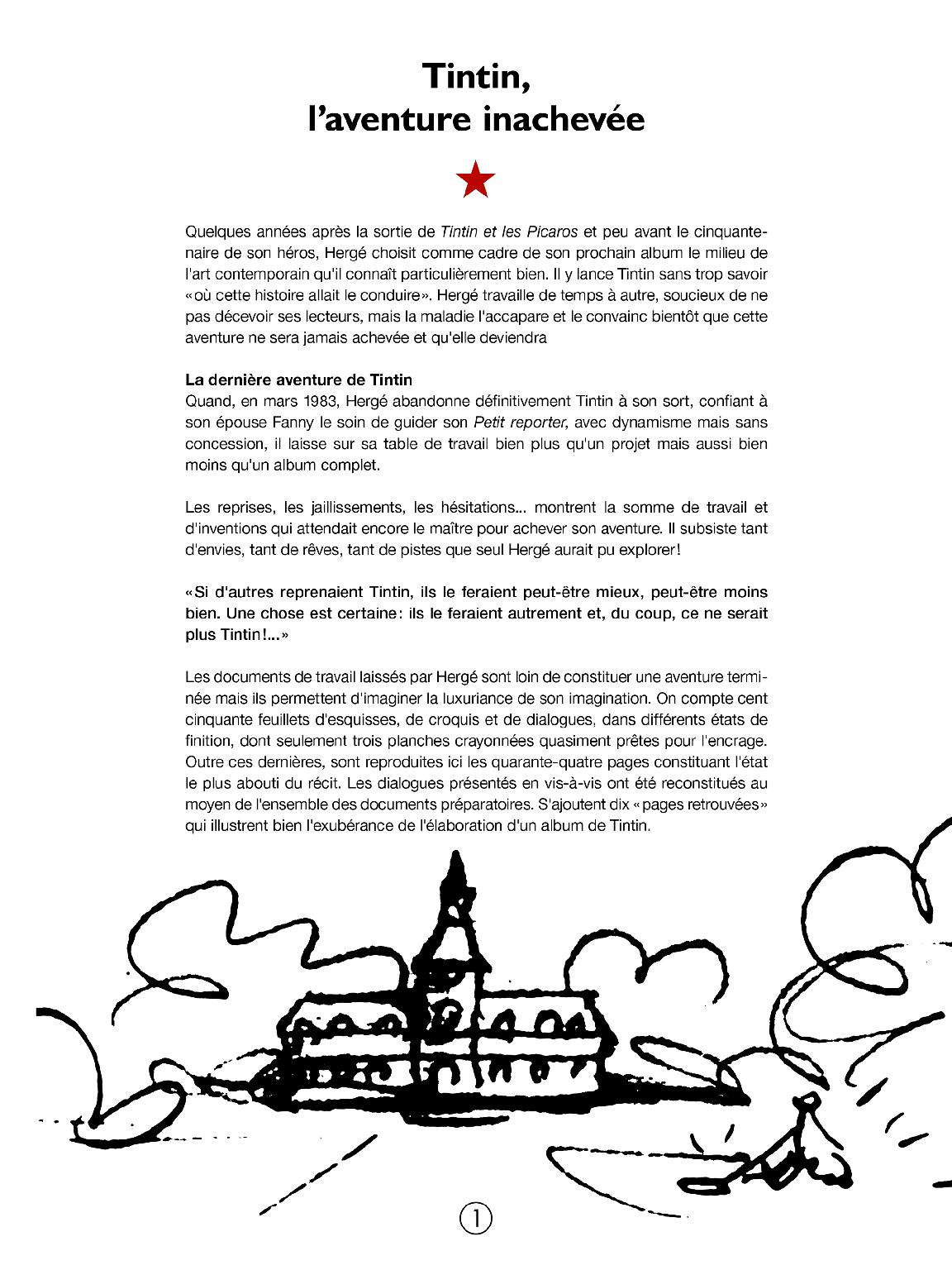 Tintin et l'Alph-Art - page 2