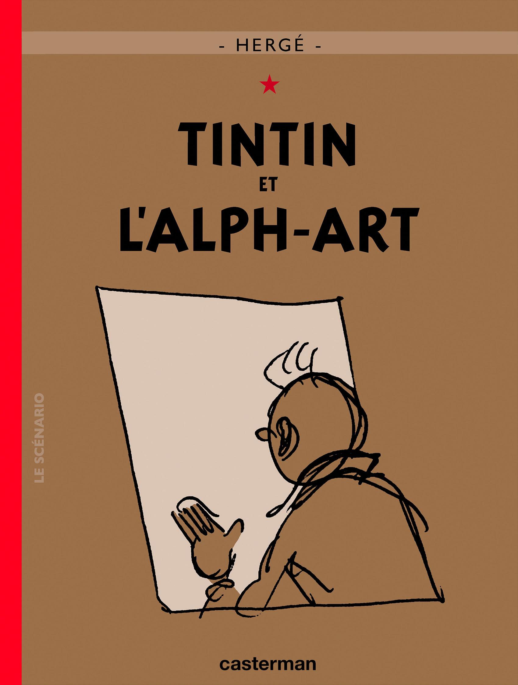 Tintin et l'Alph-Art par Hergé