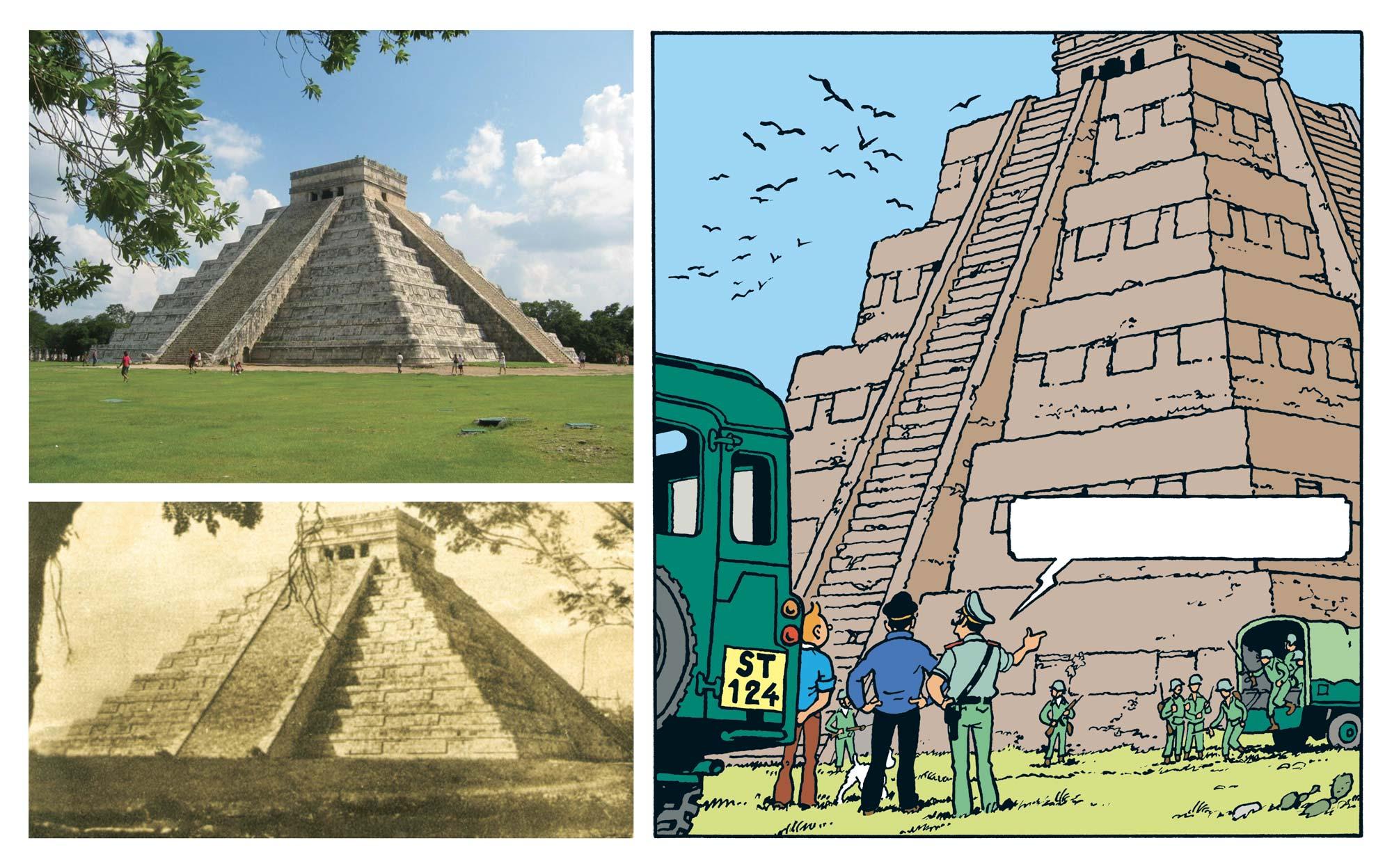 Tintin - Les Aventures de Tintin - Tintin et les Picaros - Le Castillo de Kukulcan