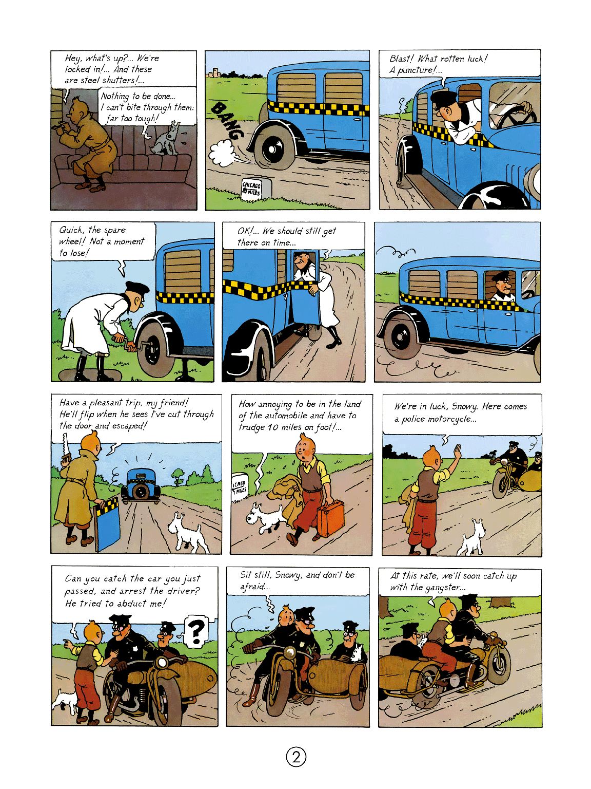 Tintin in America - page 2