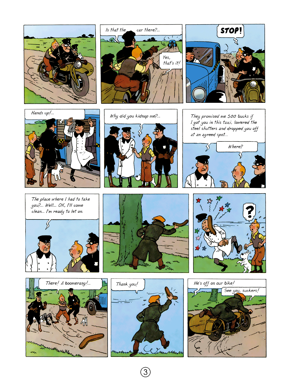 Tintin in America - page 3
