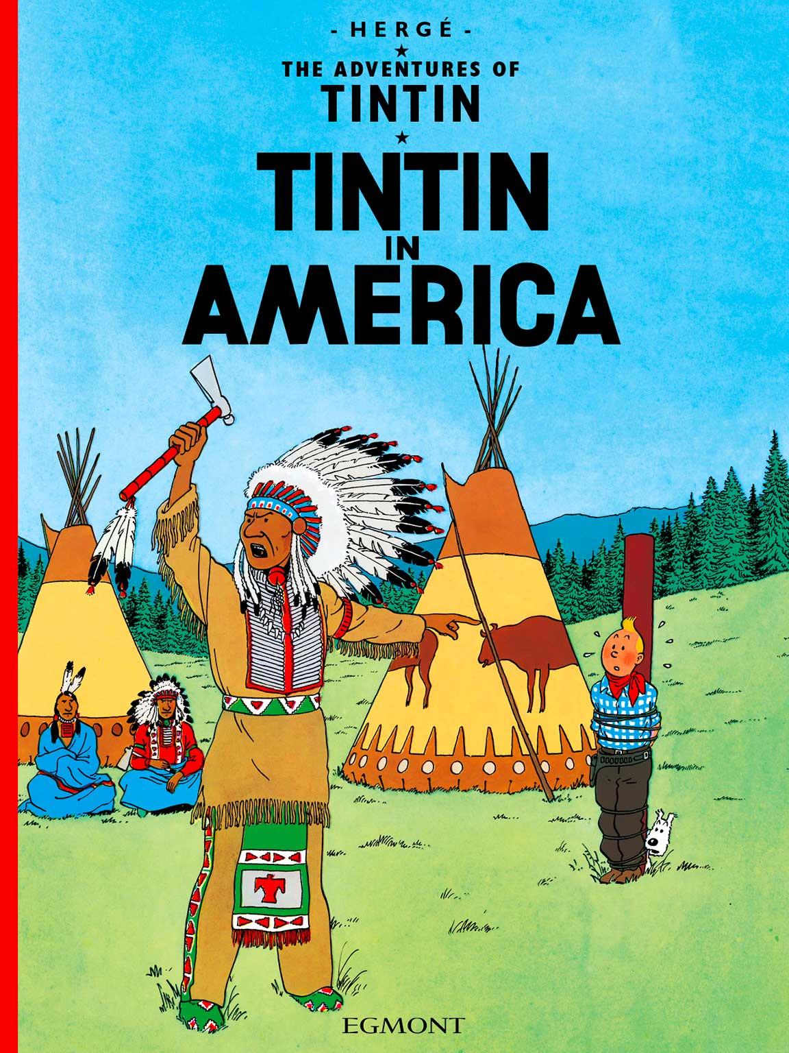 Tintin in America - Cover