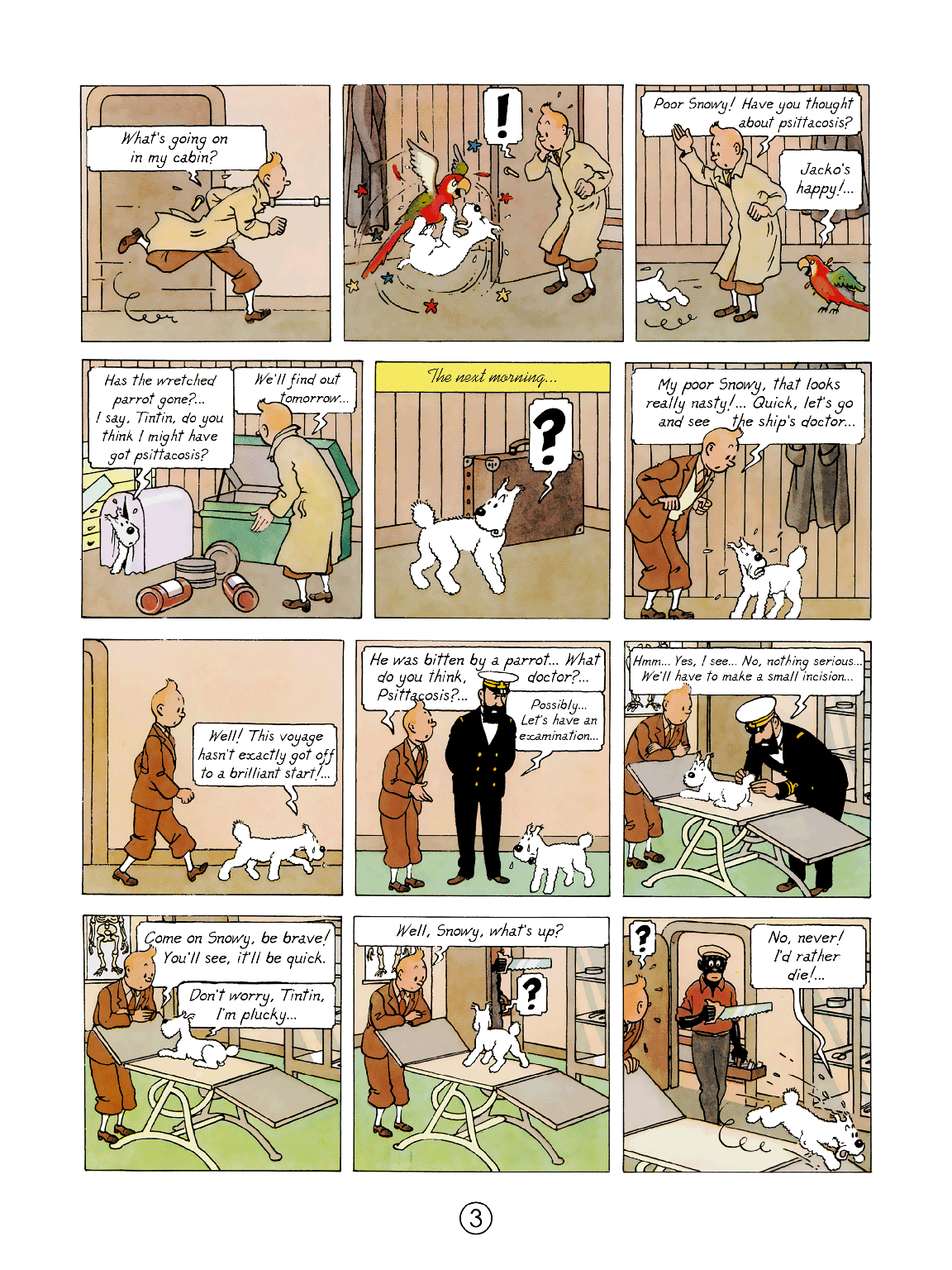 intin in the Congo - Page 3