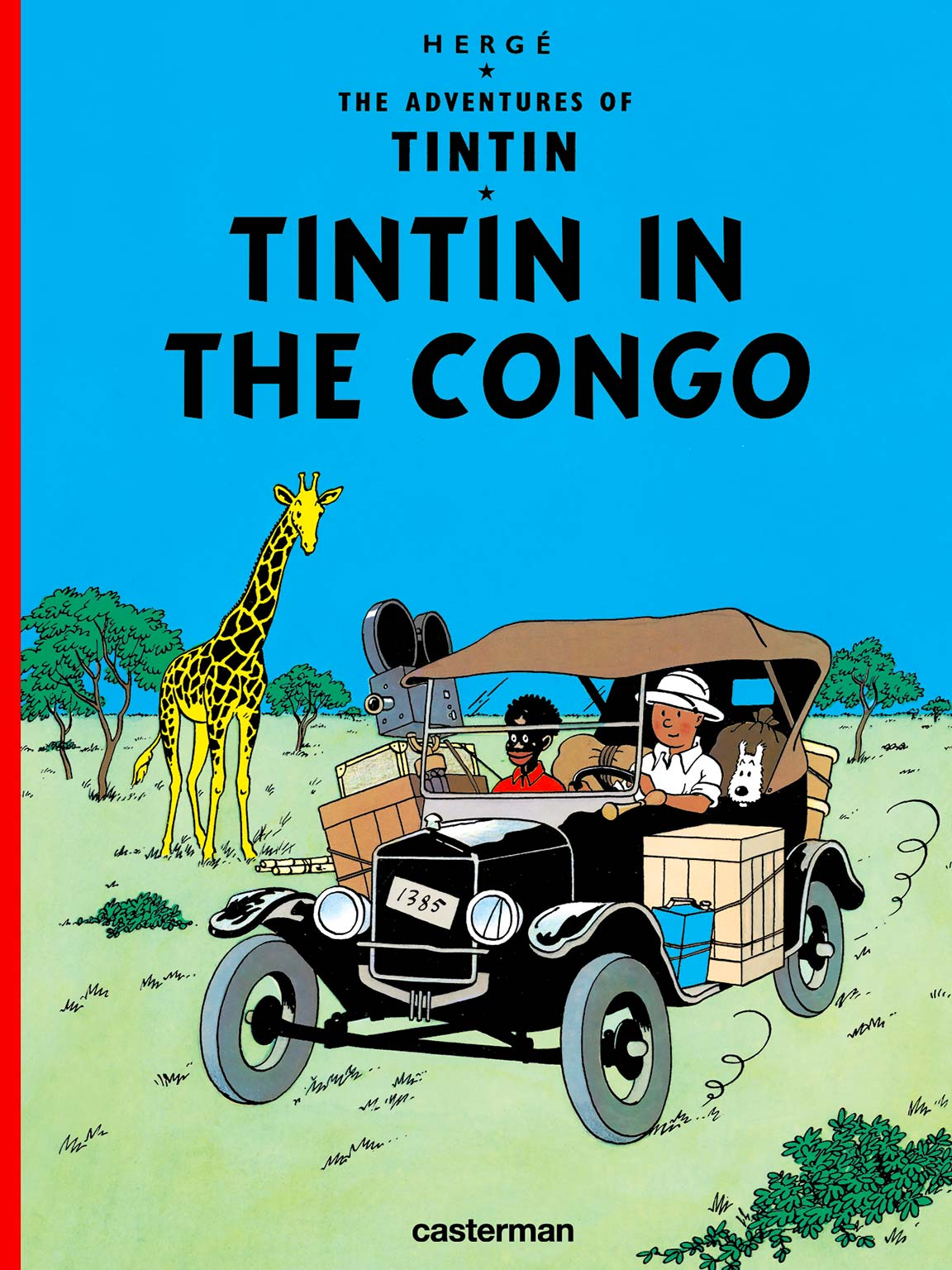 Tintin in the Congo - Cover