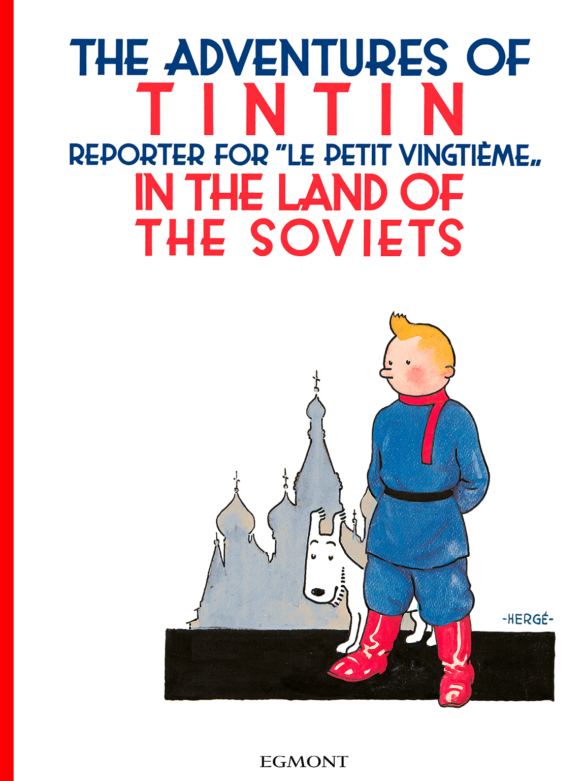 Tintin in the Land of the Soviets - Cover