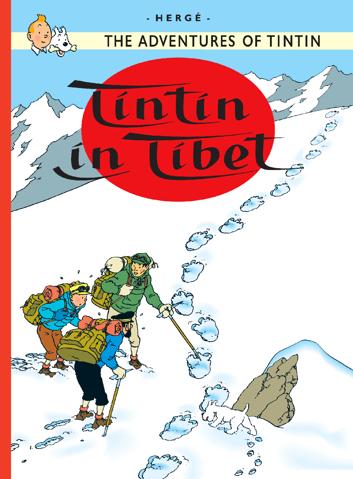 Tintin in Tibet - Cover