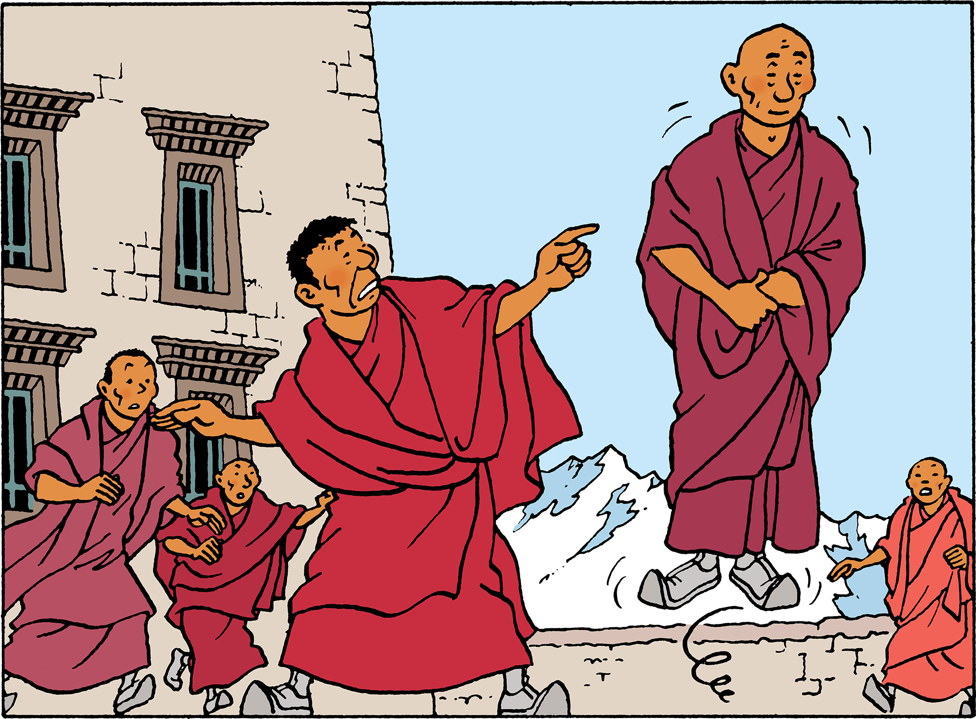 Tintin in Tibet - Blessed Lightning
