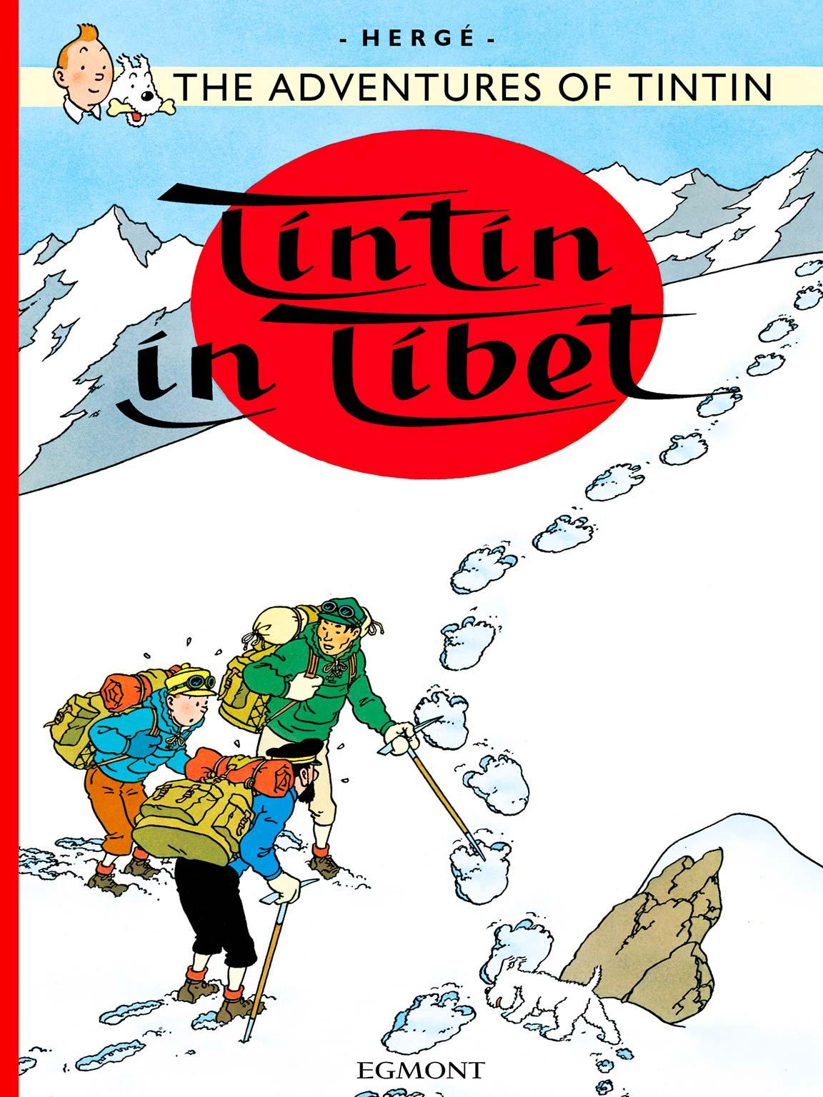 Tintin in Tibet - Cover