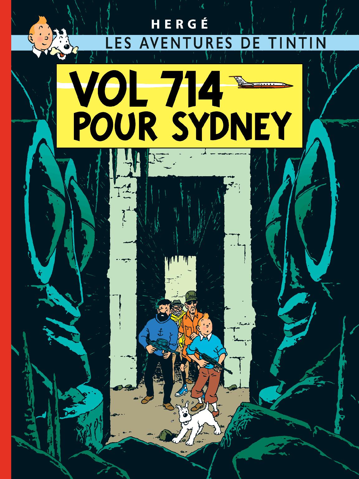 TINTIN Flight 714 Sydney Hergé RG tintin.com