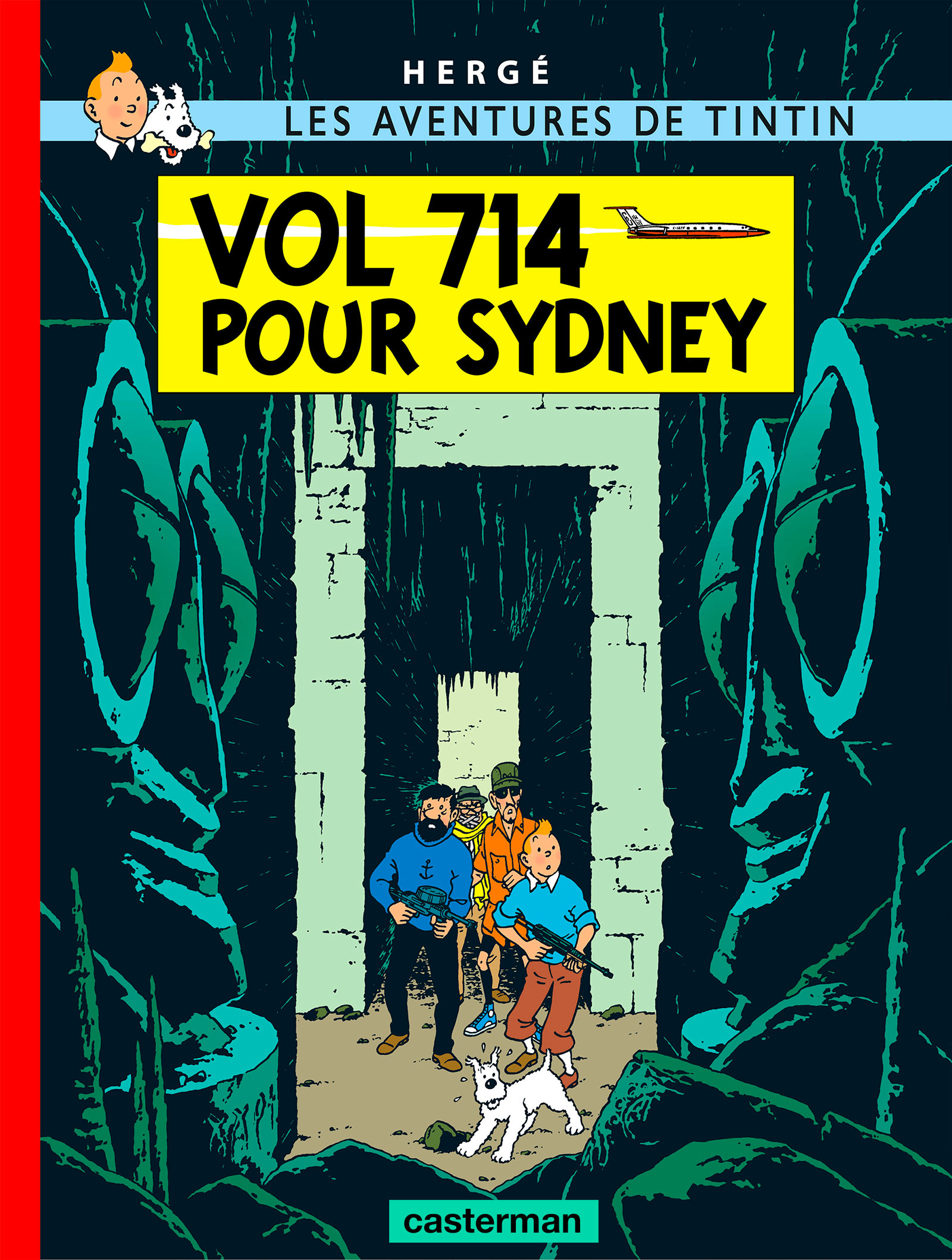 Vol 714 pour Sydney par Hergé